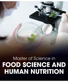 MSc in Food Science and Human Nutrition